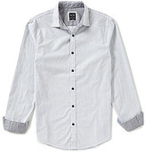 Armani Exchange Check Long-Sleeve Woven Shirt