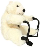Dolce & Gabbana Polar Bear Shaped Plush Backpack