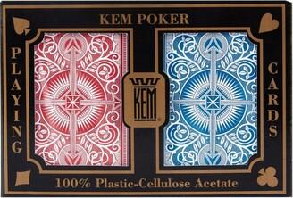 Kem Jumbo Double Deck Playing Cards