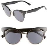 Marc Jacobs Women's 51Mm Gradient Lens Cat Eye Sunglasses - Black