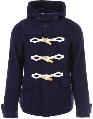 J.W.Anderson Duffle Coat With Maxi Toggles