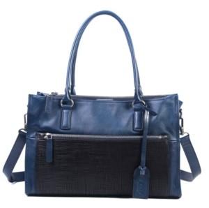 Old Trend Senna Leaf Leather Tote Bag