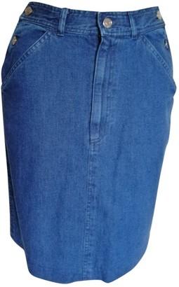 Ralph Lauren Blue Denim - Jeans Skirt for Women Vintage