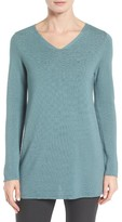 Eileen Fisher Women's Textured Tencel Tunic Sweater
