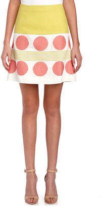 Boden Lara Embroidered Skirt