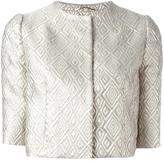 Max Mara Cigno jacket - women - Silk/Polyamide/Polyester/Metallic Fibre - 42