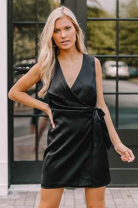 Adelyn Rae Zoe Wrap Dress