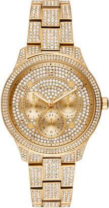 Michael Kors Runway Crystal Bracelet Watch, 38mm