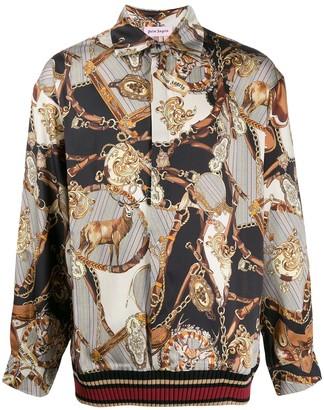 Palm Angels bridle print overshirt