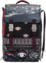 Kenzo Multicolor Eyes Backpack