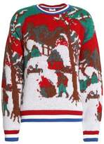 Stella Jean Jacquard-Knit Sweater