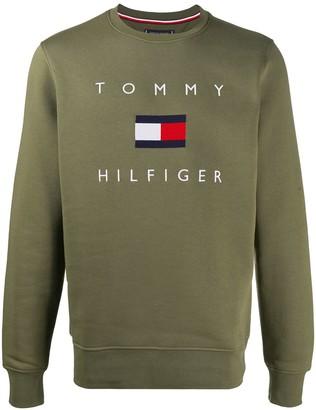 Tommy Hilfiger Logo Print Jumper