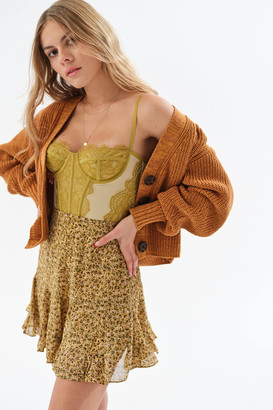 Dress Forum Full Ruffle Mini Skirt