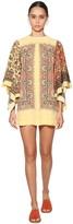 Etro Printed Silk Twill Mini Dress