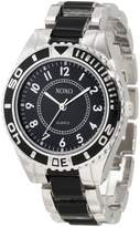 XOXO Women's XO5470 Silver-Tone And Bracelet Watch