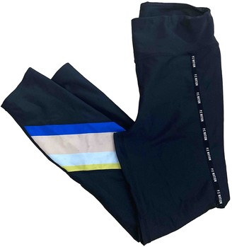 P.E Nation Black Polyester Trousers