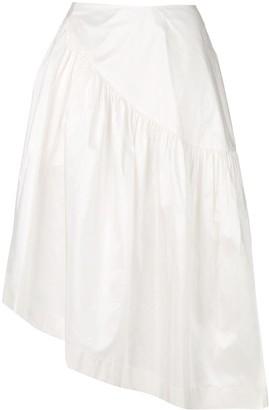 Simone Rocha Frilled Midi Skirt