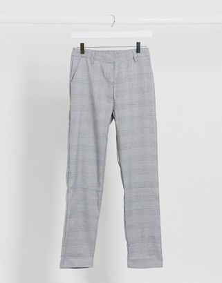 Brave Soul skinny fit checked trousers