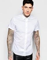 Sisley Slim Fit Formal Short Sleeve Shirt