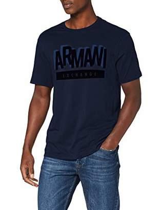 Armani Exchange A|X Men's 3D Text Logo T-Shirt