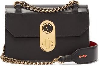 Christian Louboutin Elisa Mini Leather Cross-body Bag - Black