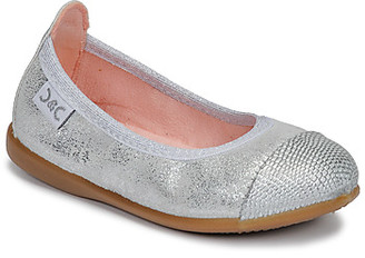 Citrouille et Compagnie JARAMIL girls's Shoes (Pumps / Ballerinas) in Silver