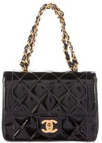 Chanel Mini Square Quilted Handle Flap Bag
