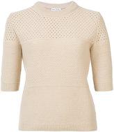 Sonia Rykiel cashmere round neck knitted T-shirt - women - Cashmere - S