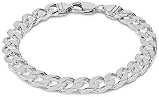"""Tuscany Silver Sterling Silver Curb Bracelet of 20cm/8"""""""