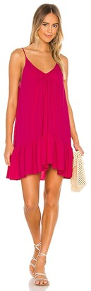 9seed 9 Seed St Tropez Ruffle Mini Dress