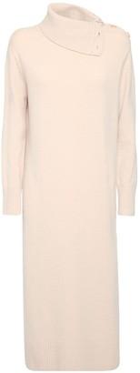 Max Mara Wool & Cashmere Turtleneck Sweater Dress