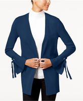 INC International Concepts Tie-Cuff Cardigan, Created for Macy's