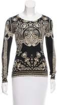 Etro Printed Silk & Cashmere Sweater