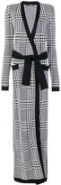 Balmain Prince of Wales checked cardigan
