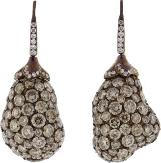 Arunashi Eggplant Earrings