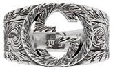 Gucci Silver Interlocking g Ring
