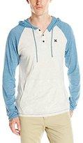 Hurley Men's Point Knit Raglan Shirt