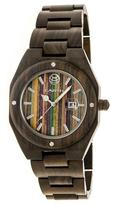 Earth Cypress Collection ETHEW4002 Unisex Wood Watch with Wood Bracelet-Style Band