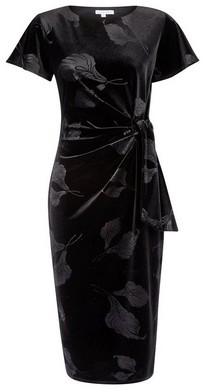 Dorothy Perkins Womens Lily & Franc Black Manipulated Dress, Black