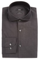 BOSS Men's Jerrin Slim Fit Print Dress Shirt