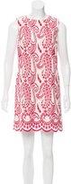 Giambattista Valli Embroidered Paisley Mini Dress