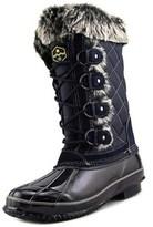 Khombu Jandice Women Round Toe Synthetic Blue Winter Boot.