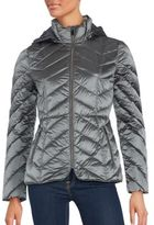 Saks Fifth Avenue Zip-Front Puffer Jacket
