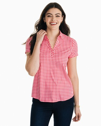 Southern Tide Tessa Intercoastal Popover Shirt