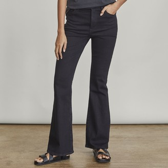 Elizabeth and James Women's High-Waisted Flare Jeans