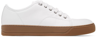 Lanvin White Leather DBB1 Sneakers