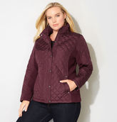 Avenue Side Knit Quilted Jacket