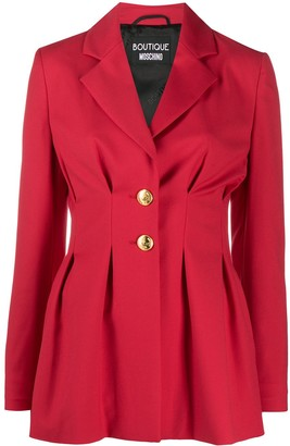 Boutique Moschino Fitted Waist Blazer