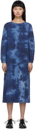 Blue Blue Japan Blue Tie-Dye Dress