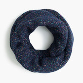 J.Crew Girls' speckled cotton infinity scarf